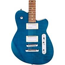 Charger RA Dark Roasted Pau Ferro Fingerboard Electric Guitar Turquoise