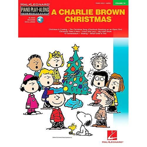 Hal Leonard Charlie Brown Christmas Piano-Play-Along Vol. 34 Book with CD