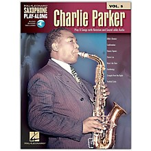 Hal Leonard Charlie Parker - Saxophone Play-Along Vol. 5 Book/Online Audio
