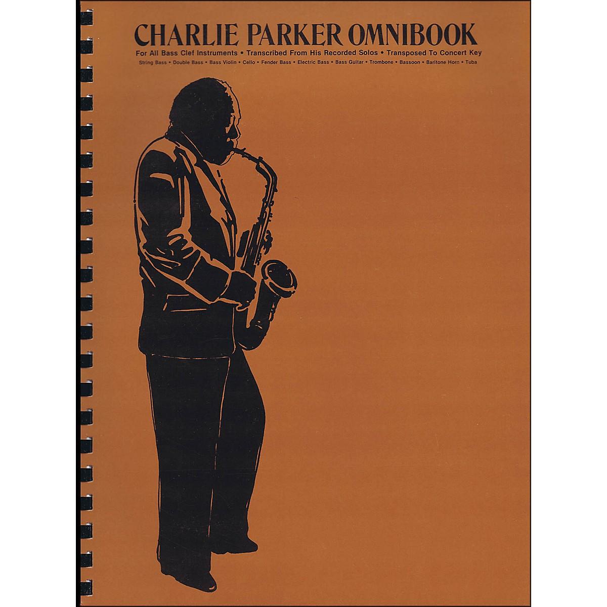Hal Leonard Charlie Parker Omnibook for Bass Clef Instruments