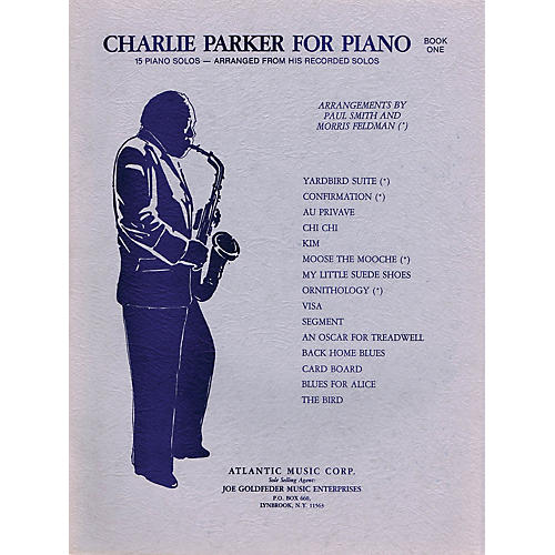 Criterion Charlie Parker for Piano - Book 1 Criterion Series Softcover Performed by Charlie Parker