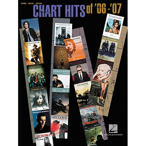 Hal Leonard Chart Hits Of '06-'07 Songbook for Piano/Vocal/Guitar
