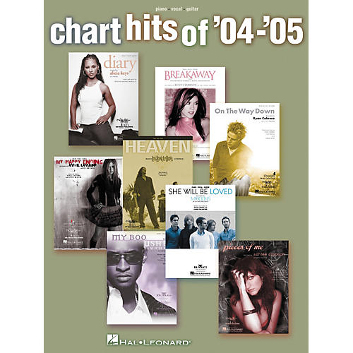 Hal Leonard Chart Hits of '04 - '05 Piano/Vocal/Guitar Songbook