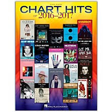 Hal Leonard Chart Hits of 2016 - 2017 for Easy Piano