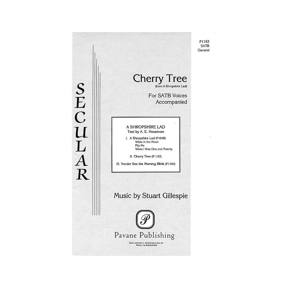 Pavane Cherry Tree SATB composed by Stuart Gillespie