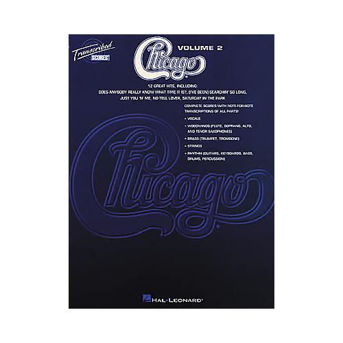Hal Leonard Chicago - Volume 2 Book