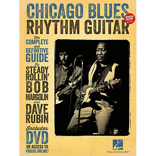 Hal Leonard Chicago Blues Rhythm Guitar Book/DVD