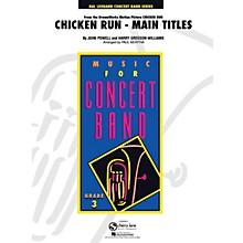 Cherry Lane Chicken Run, Main Titles - Young Concert Band Level 3 by Paul Murtha