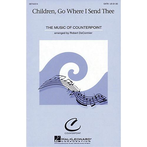 Hal Leonard Children, Go Where I Send Thee SATB arranged by Robert DeCormier