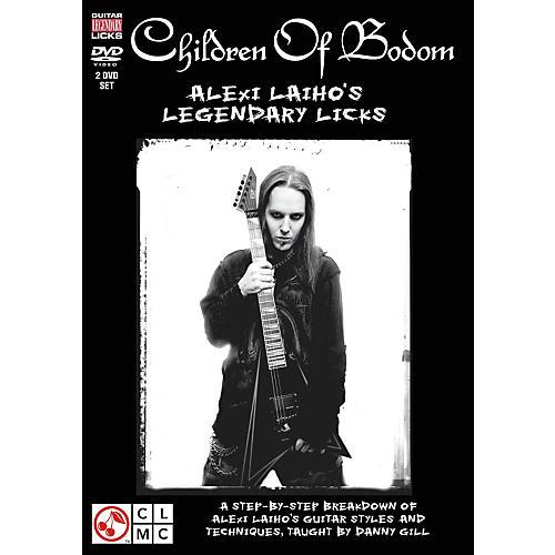 Hal Leonard Children Of Bodom - Alexi Laiho's Legendary Licks (2-DVD Set)
