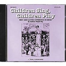 Hal Leonard Children Sing, Children Play CD