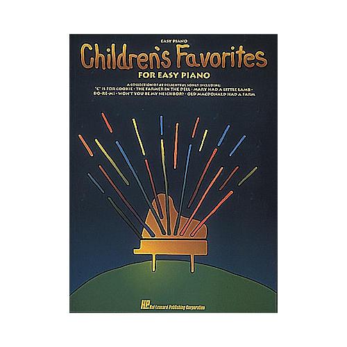 Hal Leonard Children's Favorites For Easy Piano