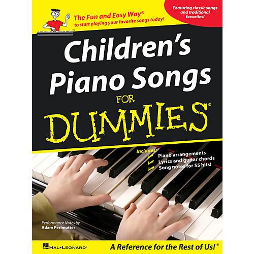 Hal Leonard Children's Piano Songs For Dummies