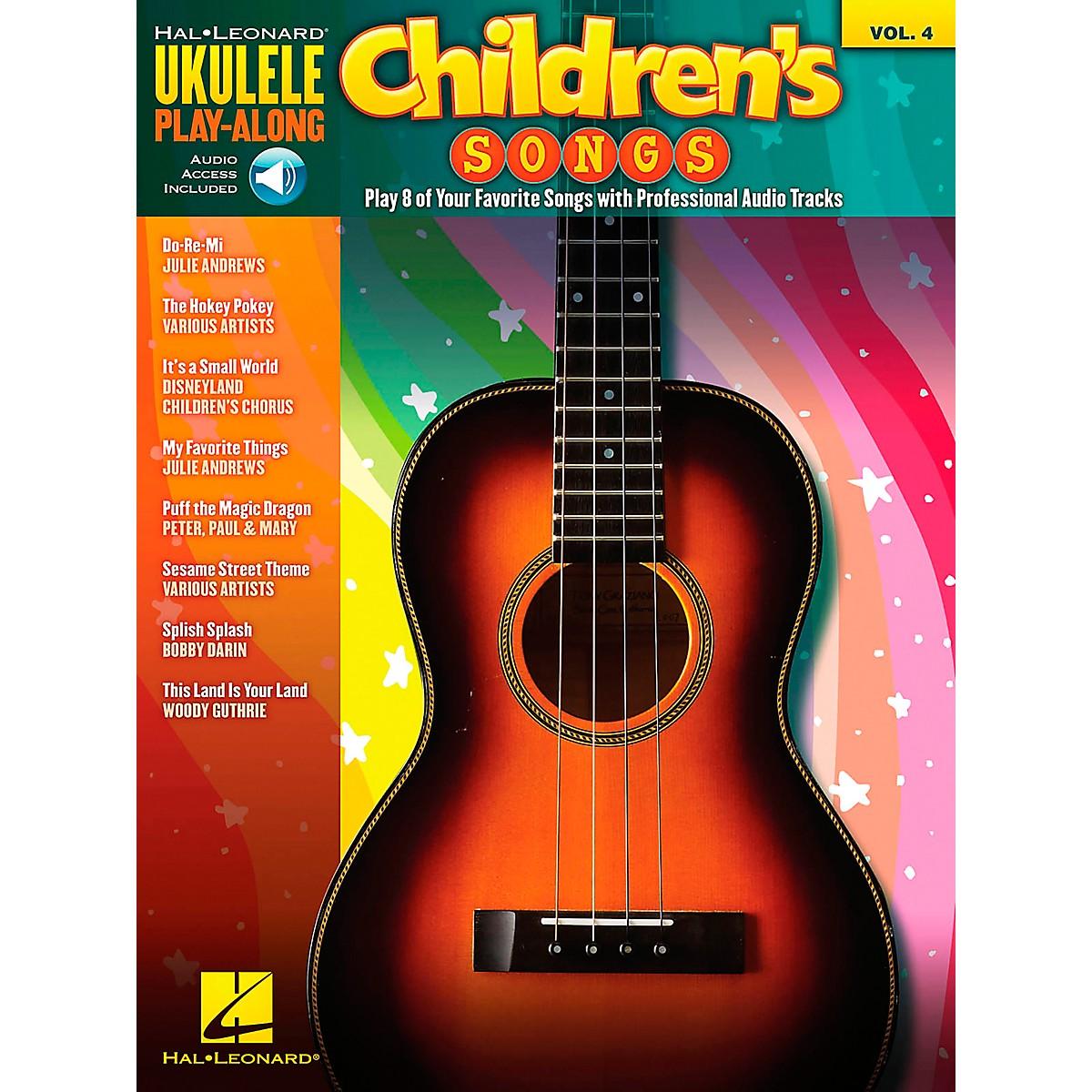 Hal Leonard Children's Songs - Ukulele Play-Along Vol. 4 (Book/CD)