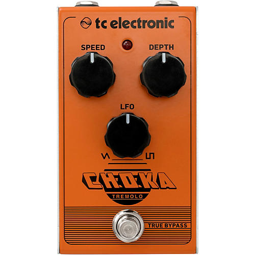 TC Electronic Choka Tremolo Effects Pedal