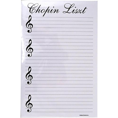 AIM Chopin Liszt Notepad