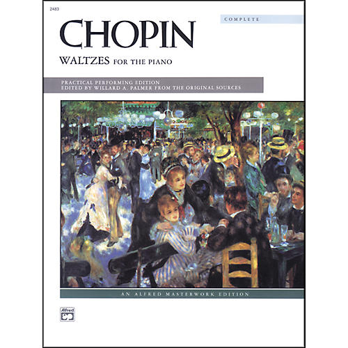 Alfred Chopin Waltzes (Complete) Intermediate/Early Advanced Piano