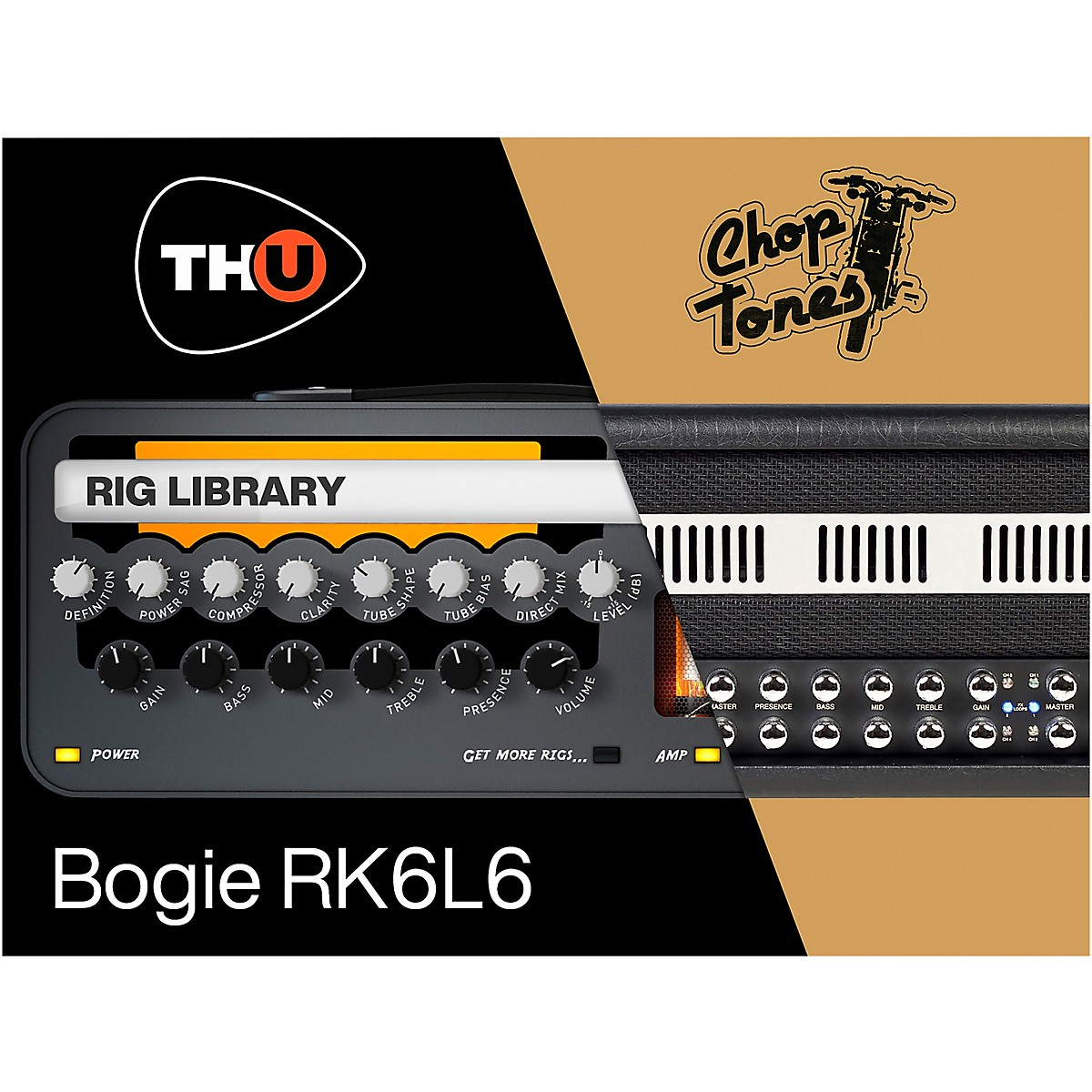 Overloud Choptones Bogie RK6L6 - TH-U Rig Library (Download)