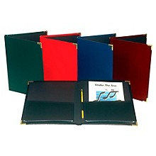"Marlo Plastics Choral Rehearsal Folder 9"" X 12"" with Gusset Pockets"