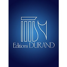 Editions Durand Choral Varie (Saxophone and Piano) Editions Durand Series  by Vincent D'Indy