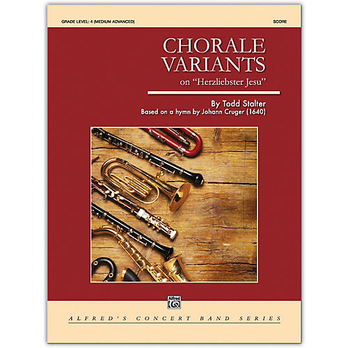 Alfred Chorale Variants Conductor Score 4 (Medium Difficult)