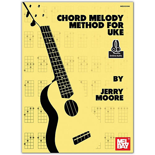 Mel Bay Chord Melody Method for Uke (Book/Online Audio)