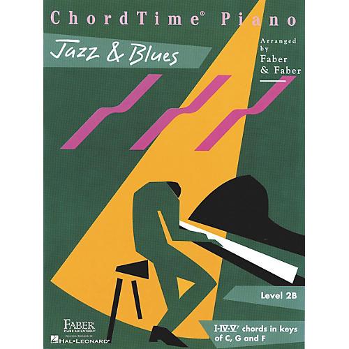 Faber Piano Adventures Chordtime Jazz & Blues L2B