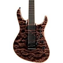 Chris Broderick Soloist Electric Guitar Transparent Black Ebony Fingerboard