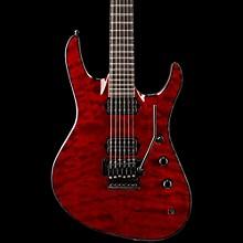 Chris Broderick Soloist Electric Guitar Transparent Red Ebony Fingerboard