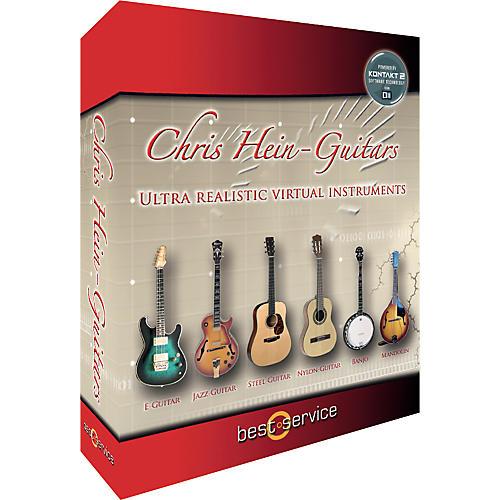 Best Service Chris Hein - Guitars Sample Library