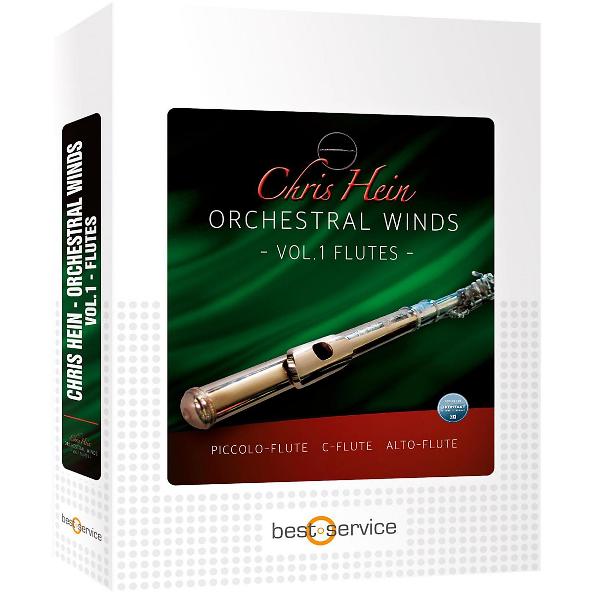 Best Service Chris Hein Orchestral Winds Vol 1 - Flutes