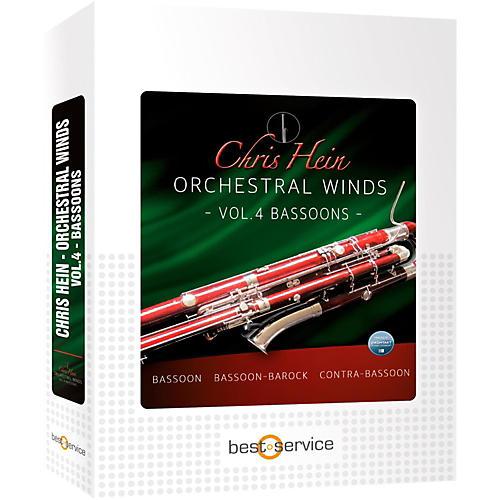 Best Service Chris Hein Orchestral Winds Vol 4 - Flutes