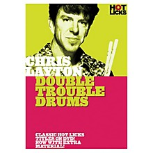 Music Sales Chris Layton - Double Trouble Drums Music Sales America Series DVD Performed by Chris Layton