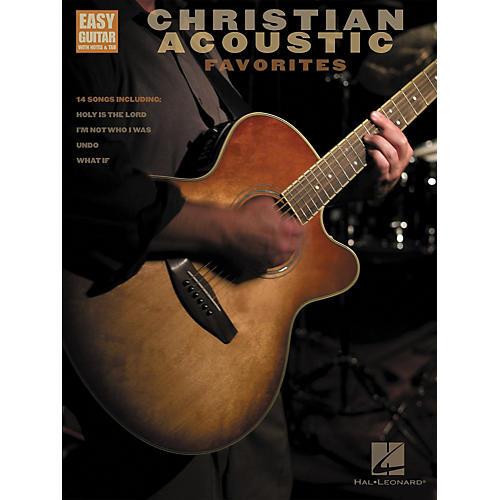 Hal Leonard Christian Acoustic Favorites Songbook w/Tab