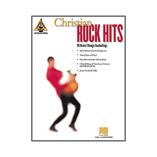 Hal Leonard Christian Rock Hits Guitar Tab Book