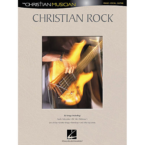 Hal Leonard Christian Rock Piano/Vocal/Guitar Songbook