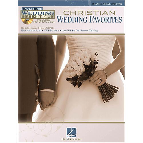 Hal Leonard Christian Wedding Favorites - Wedding Essentials Series Book/CD arranged for piano, vocal, and guitar (P/V/G)