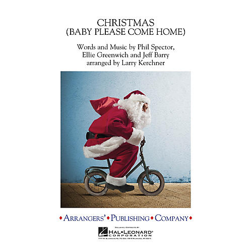 Arrangers Christmas (Baby Please Come Home) Concert Band Level 3 by Mariah Carey Arranged by Larry Kerchner