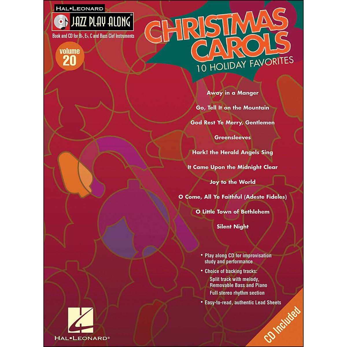 Hal Leonard Christmas Carols Jaxx Play-Along Volume 20 Book/CD