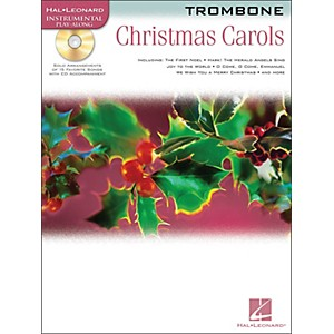 Hal Leonard Christmas Carols for Trombone Book/CD by Hal Leonard