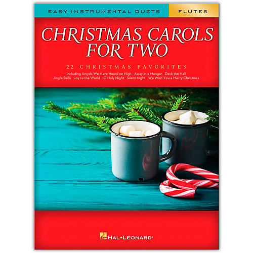 Hal Leonard Christmas Carols for Two Flutes (Easy Instrumental Duets) Songbook