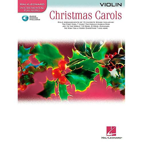 Hal Leonard Christmas Carols for Violin Book/CD