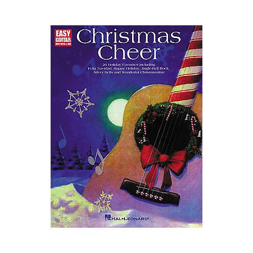 Hal Leonard Christmas Cheer for Easy Guitar Book