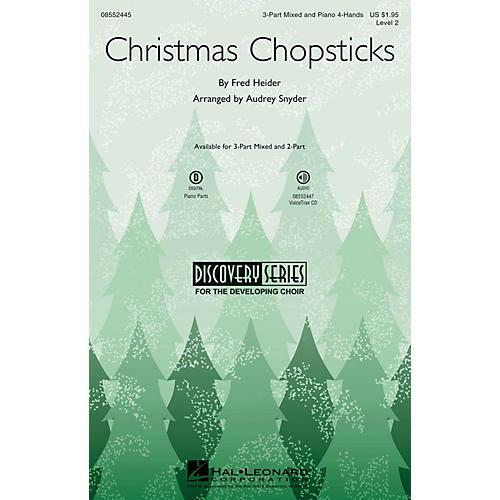 Hal Leonard Christmas Chopsticks (Discovery Level 2) 2-Part Arranged by Audrey Snyder