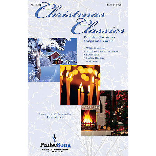 PraiseSong Christmas Classics (Collection) (Popular Christmas Classics and Carols) Preview Pak Arranged by Don Marsh