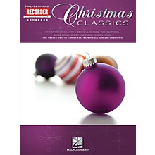 Hal Leonard Christmas Classics (Hal Leonard Recorder Songbook) Recorder Series Softcover