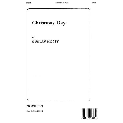 Novello Christmas Day SATB Composed by Gustav Holst
