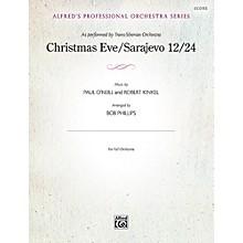 Alfred Christmas Eve/Sarajevo 12/24 Full Orchestra Grade Professional