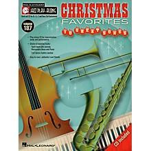 Hal Leonard Christmas Favorites - Jazz Play-Along Volume 187 (Book/CD)