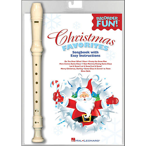 Hal Leonard Christmas Favorites - Recorder Fun! Pack